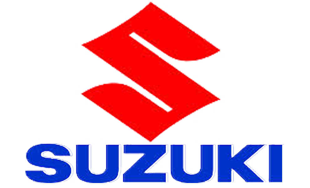 Suzuki Logo on sports car badges
